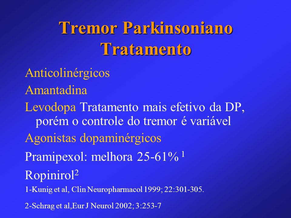 Tremor Parkinsoniano Tratamento
