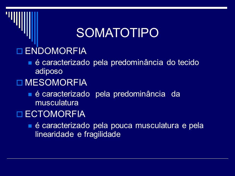 SOMATOTIPO ENDOMORFIA MESOMORFIA ECTOMORFIA