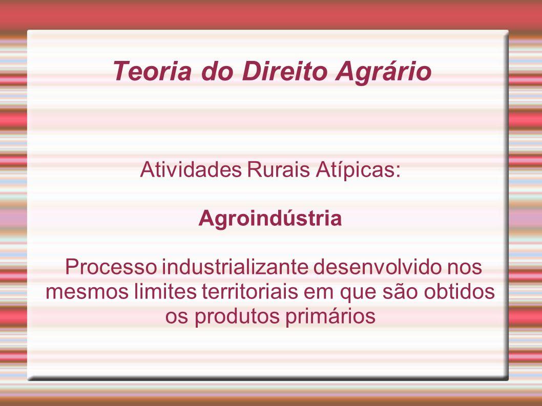 Teoria do Direito Agrário