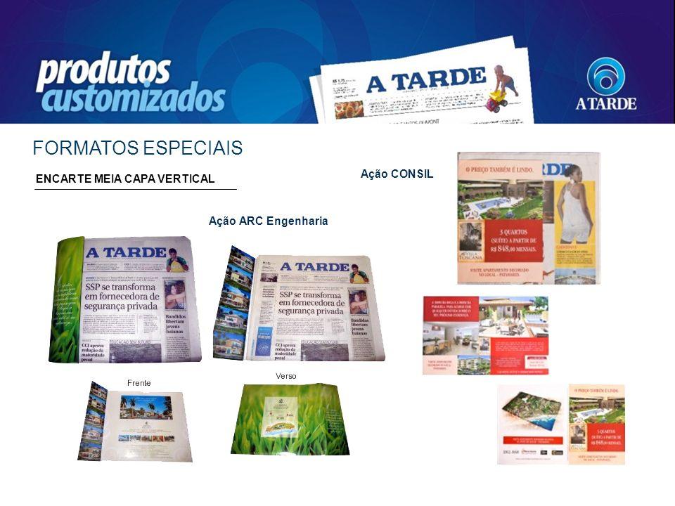 FORMATOS ESPECIAIS Ação CONSIL ENCARTE MEIA CAPA VERTICAL