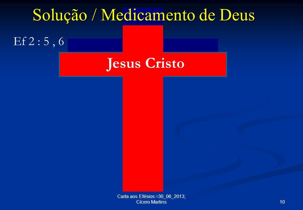 Solução / Medicamento de Deus