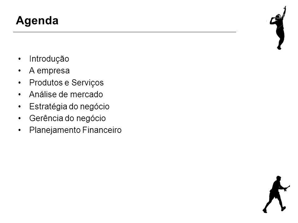 Agenda Introdução A empresa Produtos e Serviços Análise de mercado