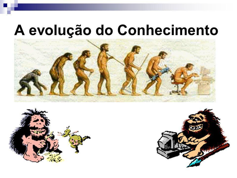 A evolução do Conhecimento