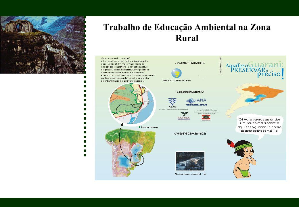 Trabalho de Educação Ambiental na Zona Rural