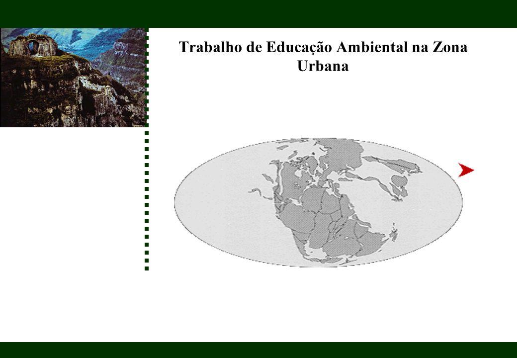 Trabalho de Educação Ambiental na Zona Urbana