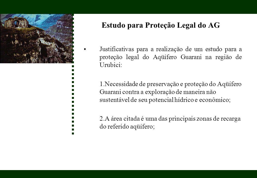 Estudo para Proteção Legal do AG