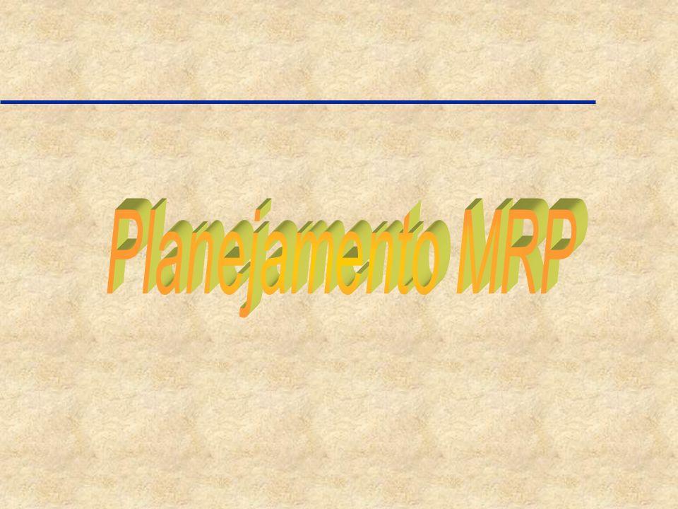 Planejamento MRP