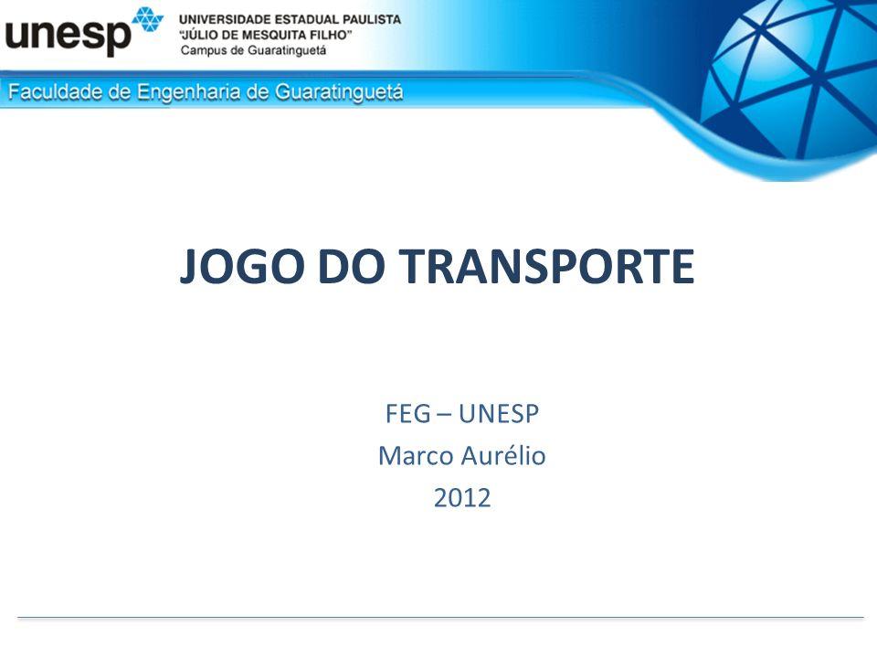 FEG – UNESP Marco Aurélio 2012