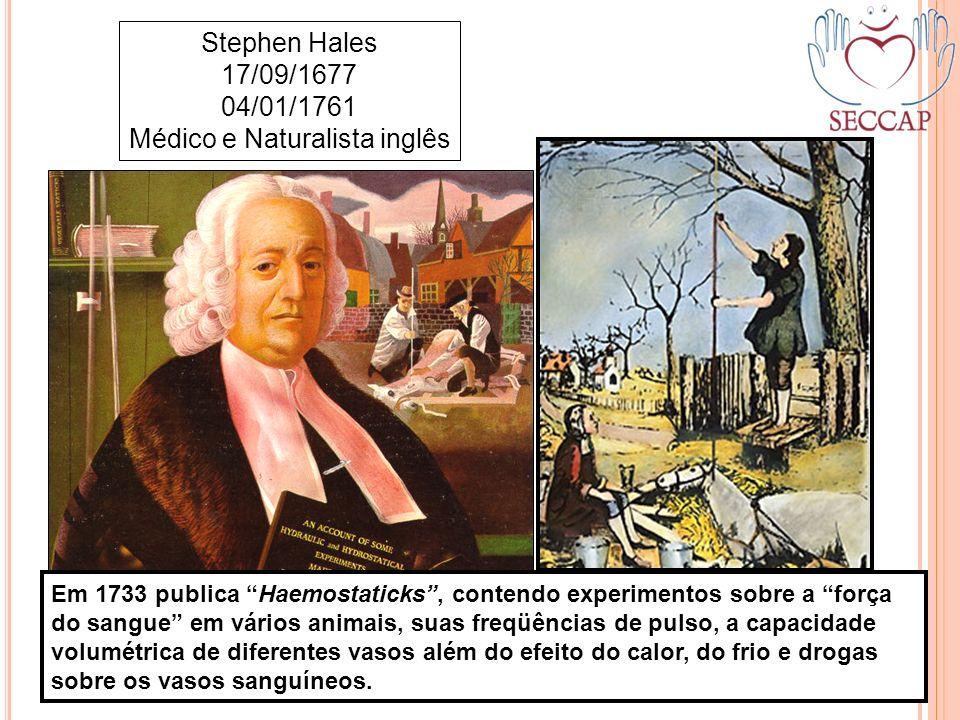 04/01/1761 Médico e Naturalista inglês