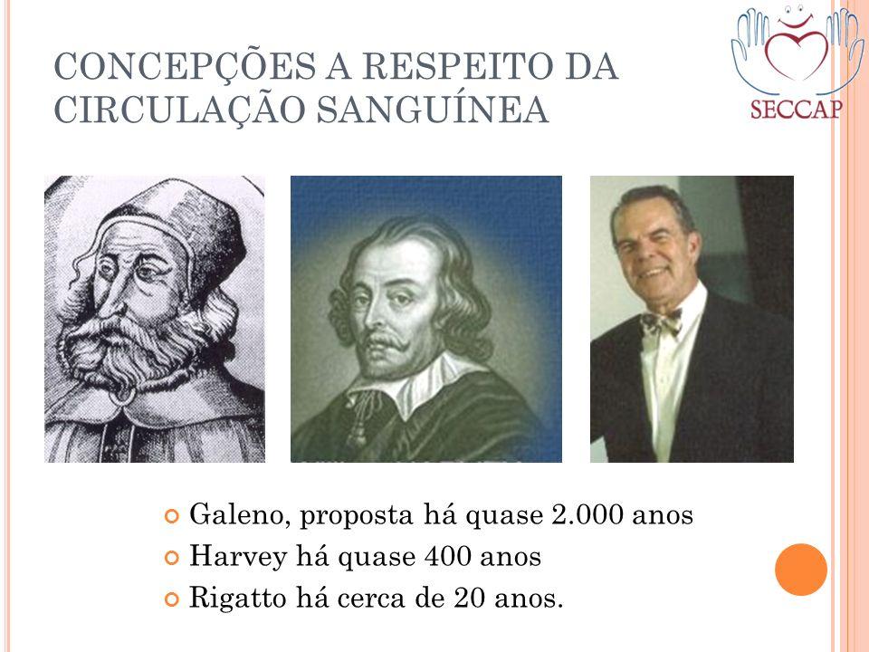 CONCEPÇÕES A RESPEITO DA CIRCULAÇÃO SANGUÍNEA