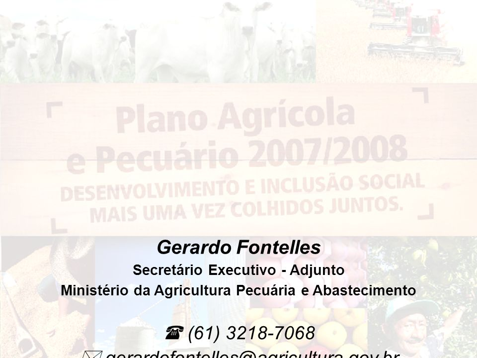 Gerardo Fontelles  (61) 3218-7068