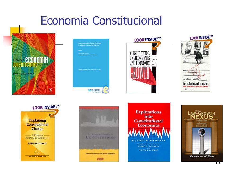 Economia Constitucional