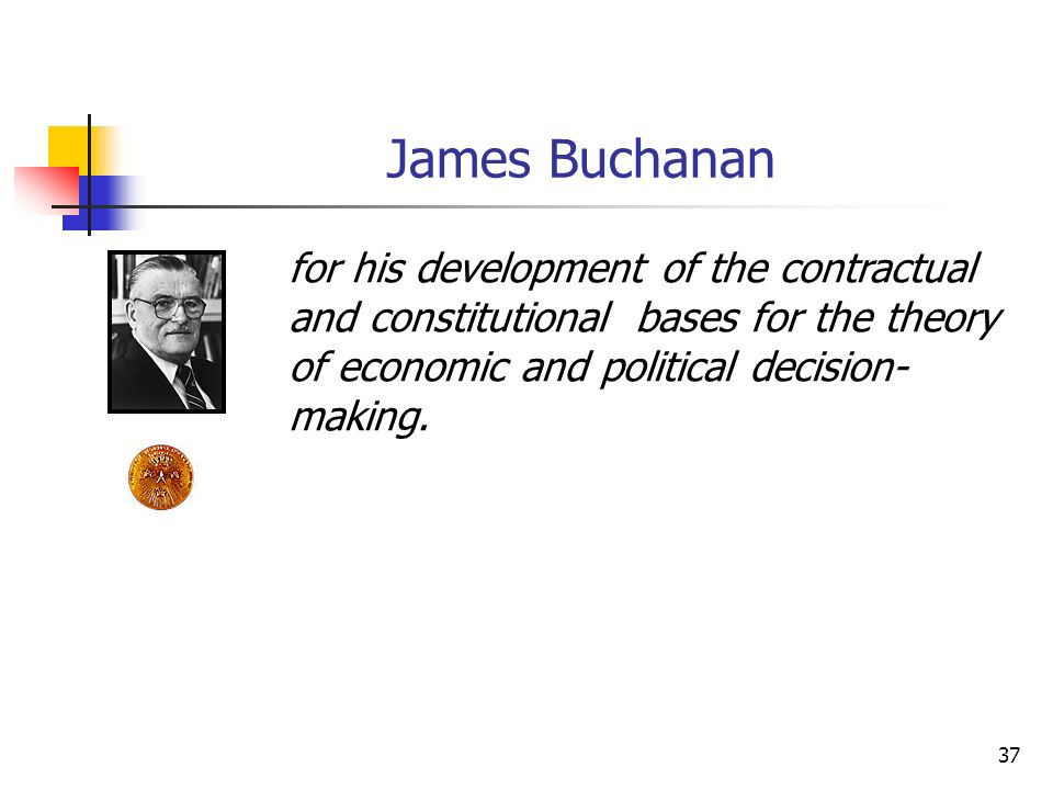 DIREITO E ECONOMIA 24/03/2017. James Buchanan.