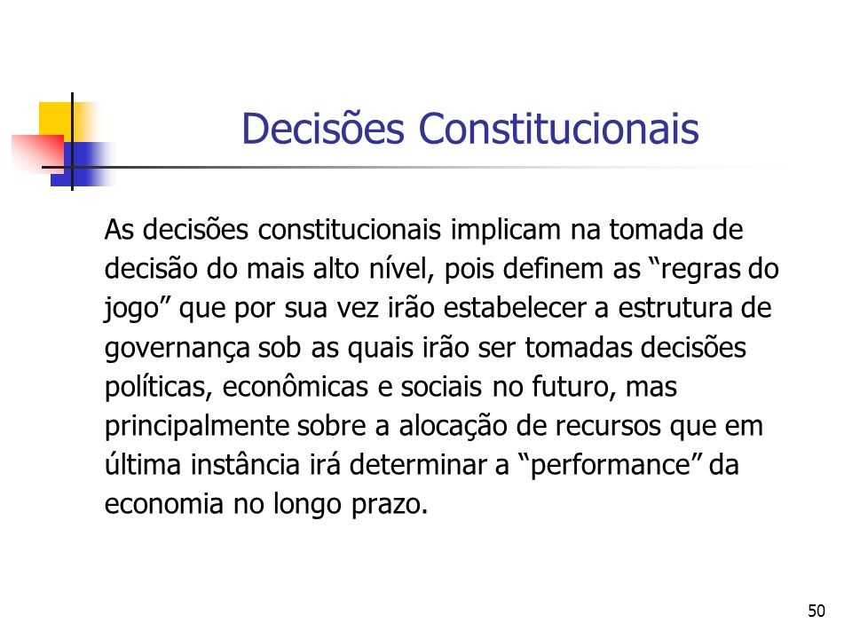 Decisões Constitucionais