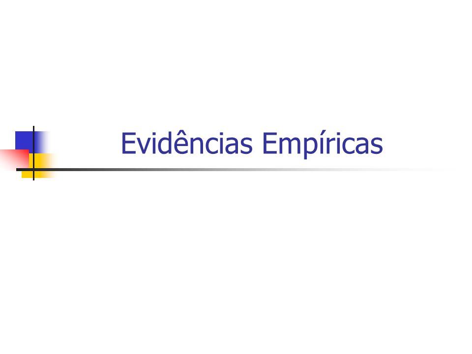 Evidências Empíricas DIREITO E ECONOMIA 24/03/2017