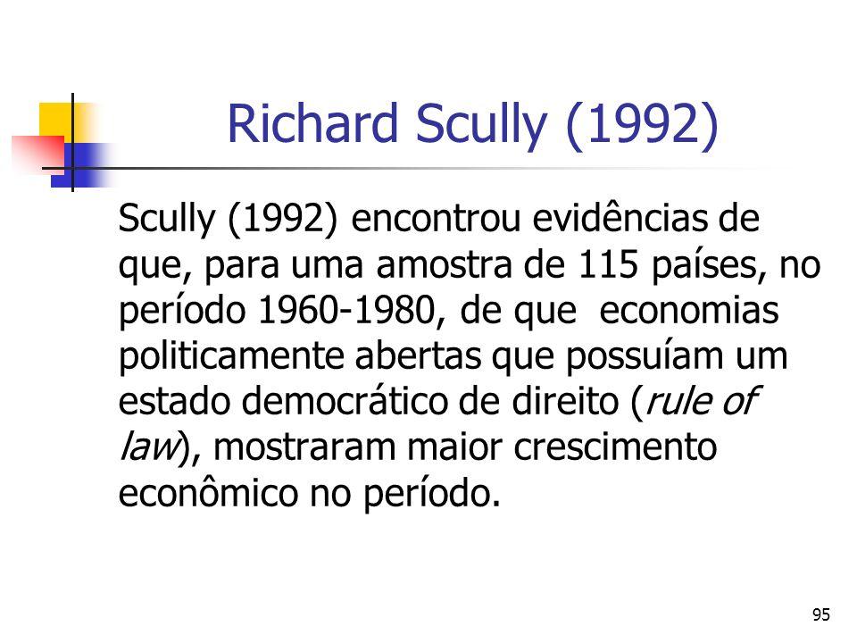 DIREITO E ECONOMIA 24/03/2017. Richard Scully (1992)