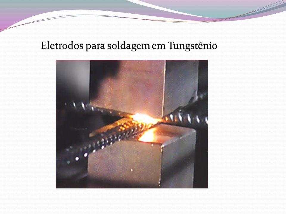 Eletrodos para soldagem em Tungstênio