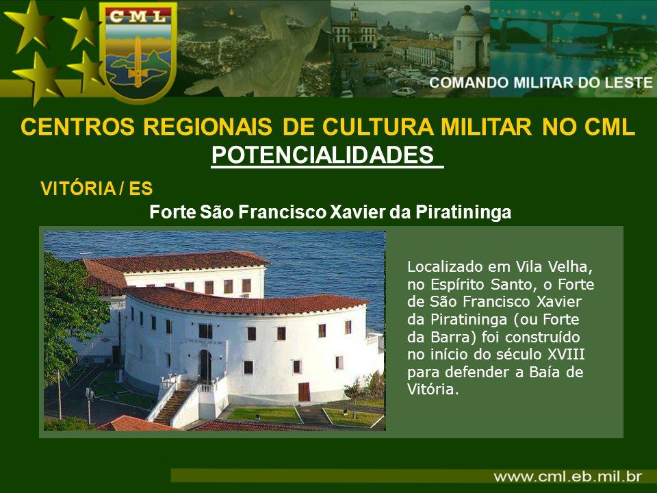 CENTROS REGIONAIS DE CULTURA MILITAR NO CML POTENCIALIDADES