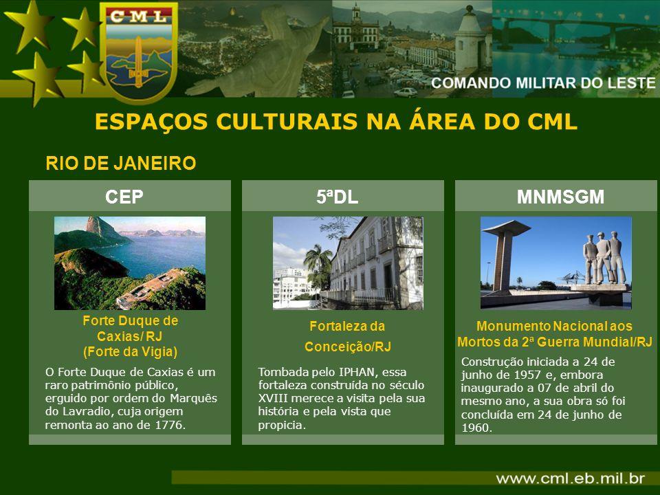 ESPAÇOS CULTURAIS NA ÁREA DO CML