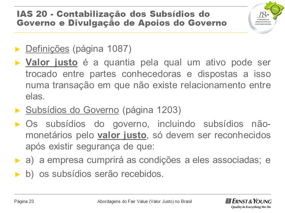 Subsídios do Governo (página 1203)