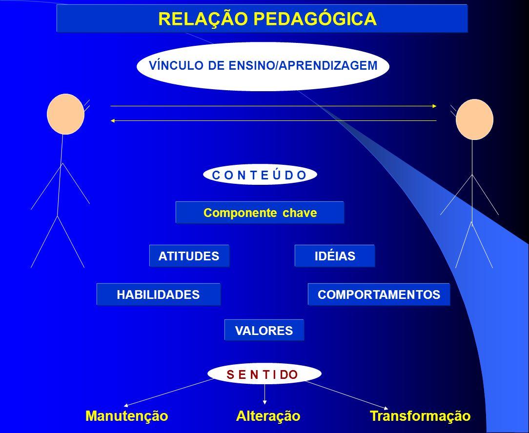 VÍNCULO DE ENSINO/APRENDIZAGEM