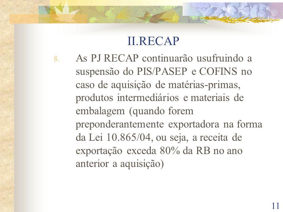 II.RECAP