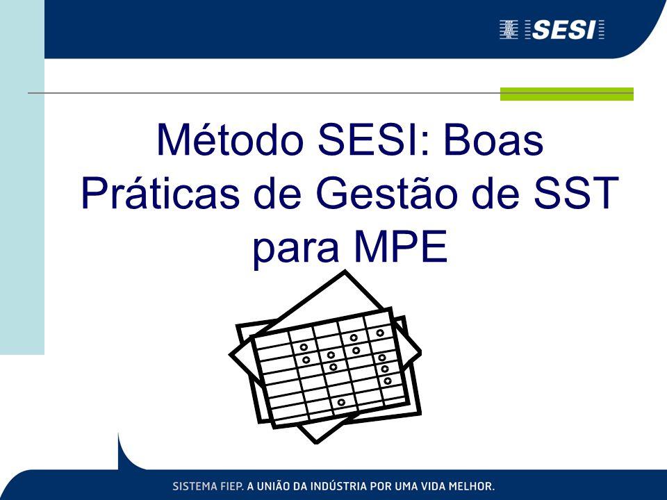 Método SESI: Boas Práticas de Gestão de SST para MPE