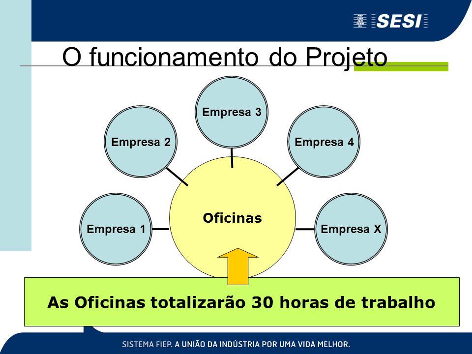 O funcionamento do Projeto