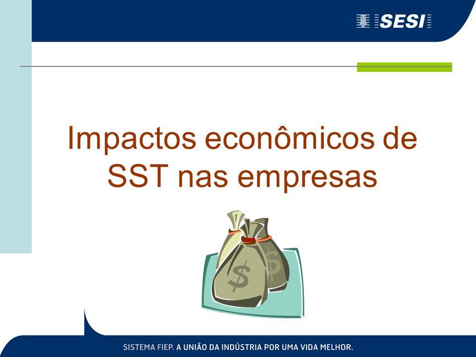 Impactos econômicos de SST nas empresas