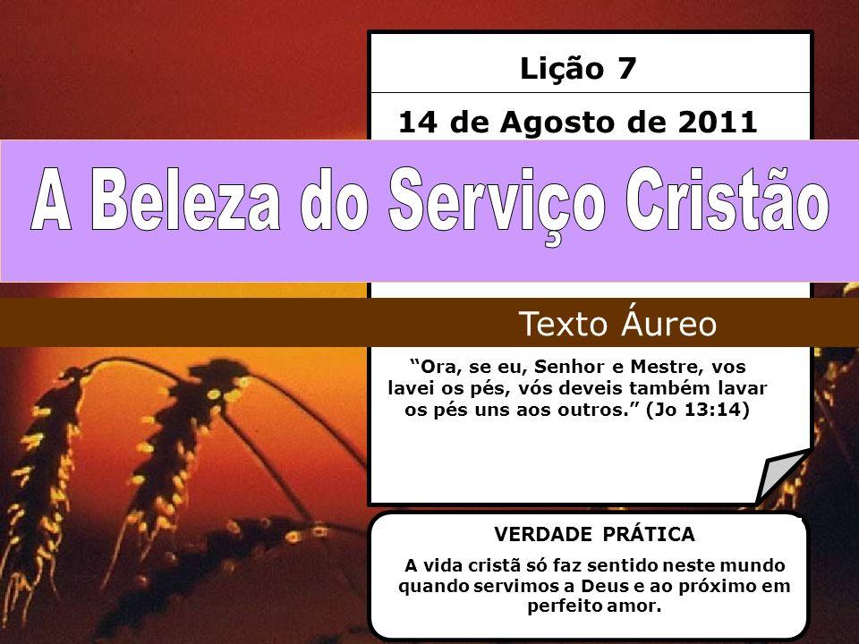 A Beleza do Serviço Cristão