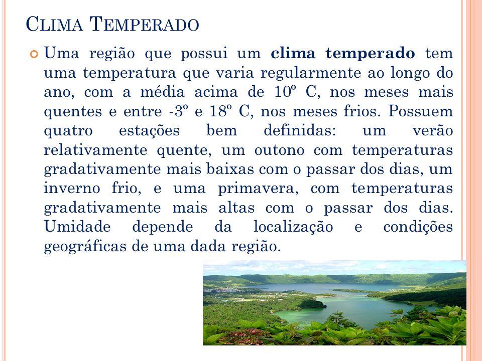 Clima Temperado