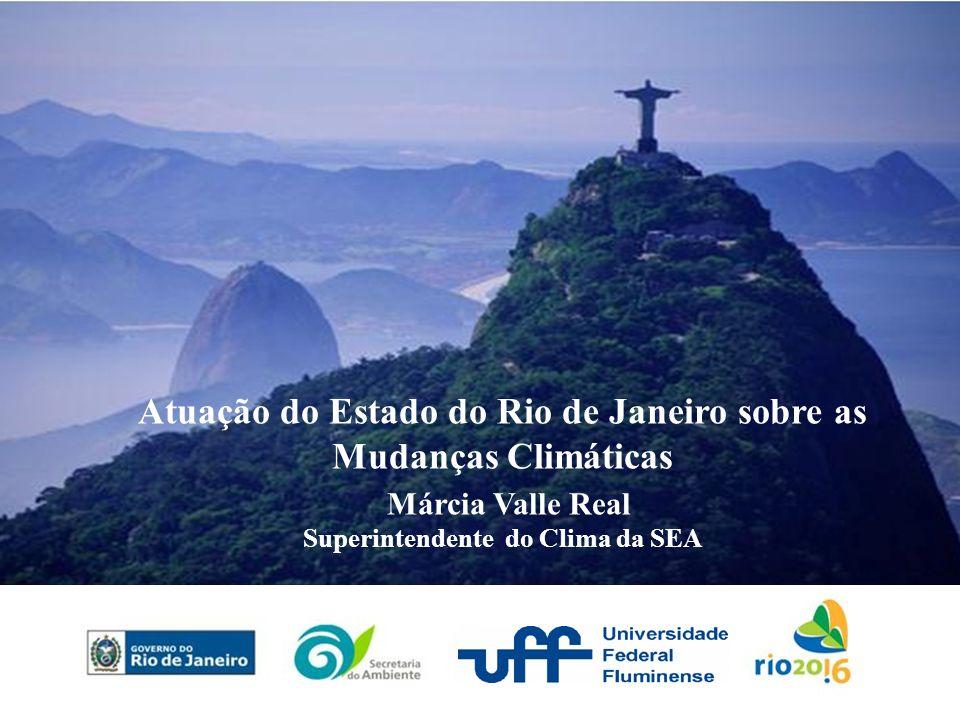 Atuação do Estado do Rio de Janeiro sobre as Mudanças Climáticas