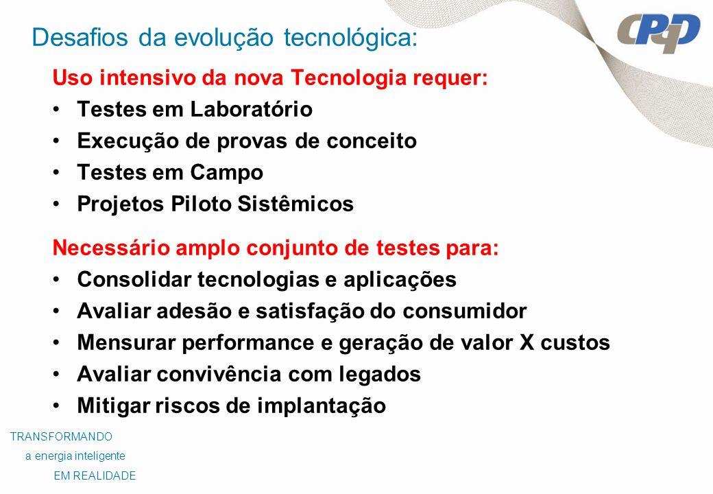Desafios da evolução tecnológica: