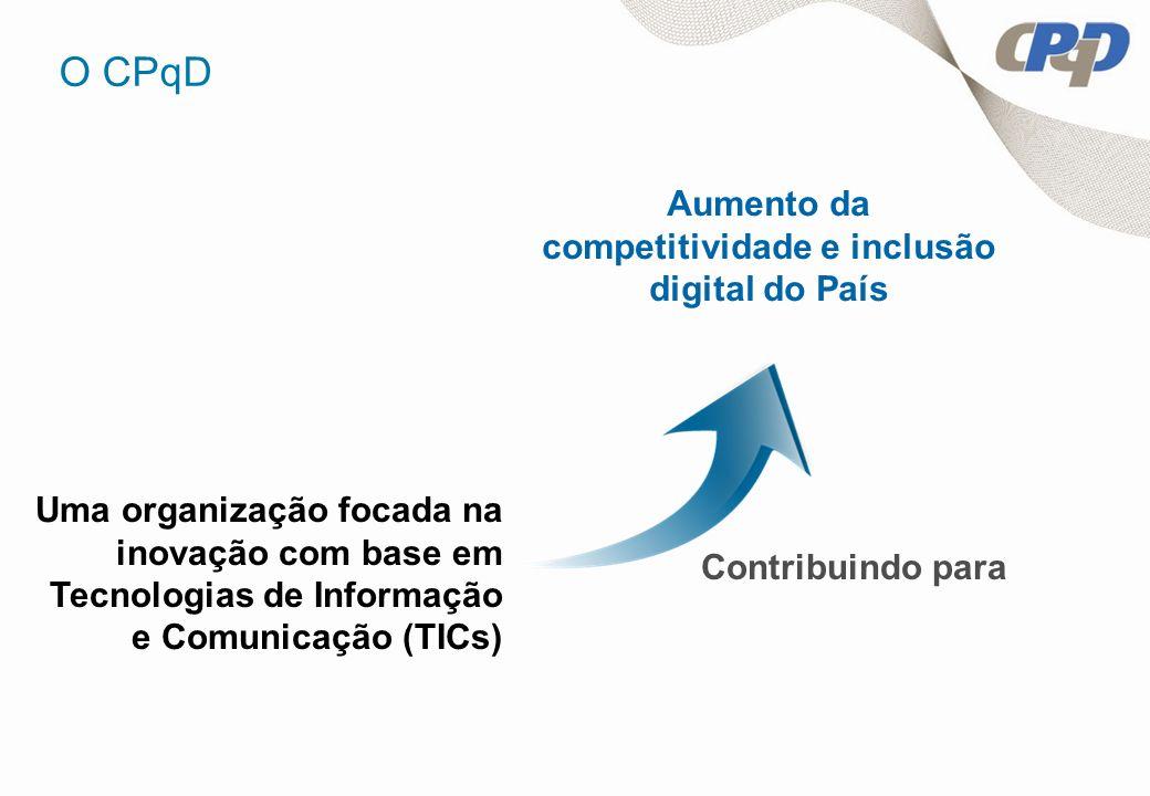 Aumento da competitividade e inclusão digital do País