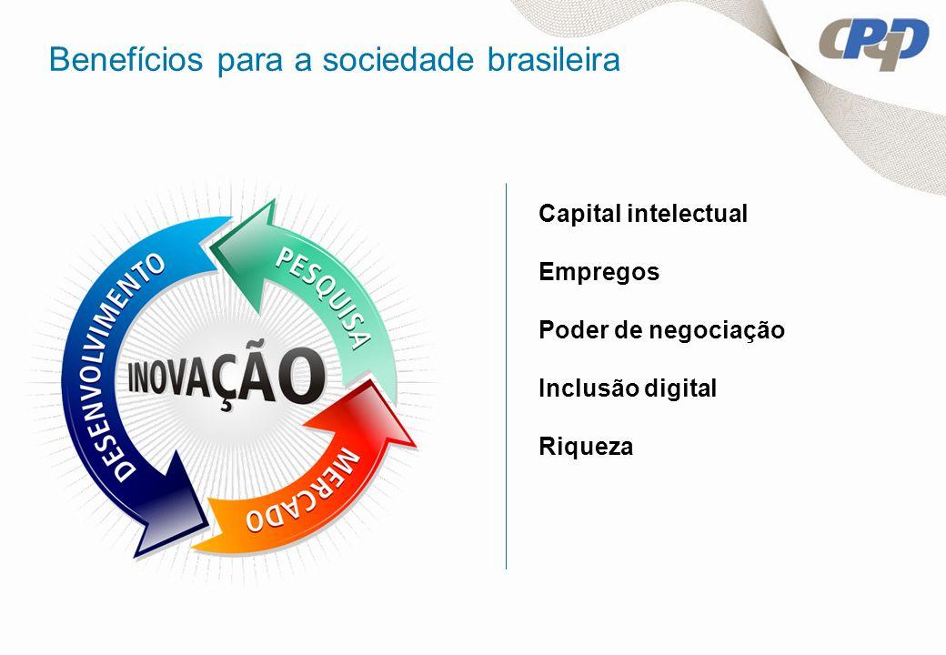 Benefícios para a sociedade brasileira