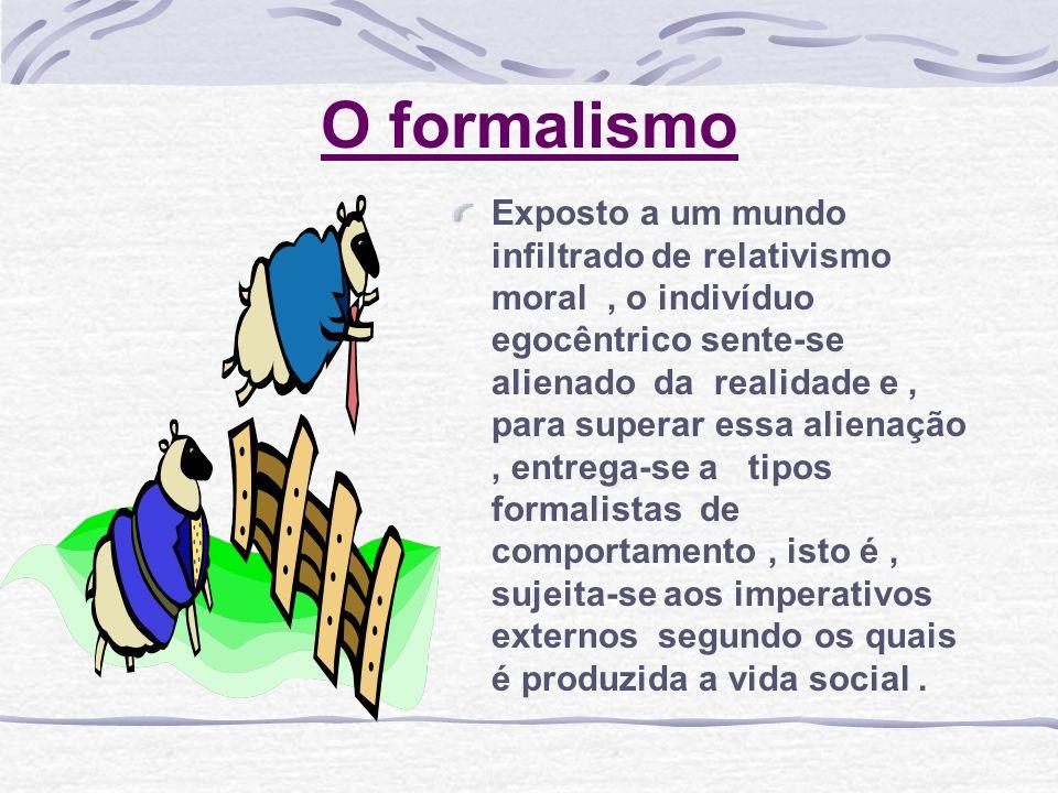 O formalismo