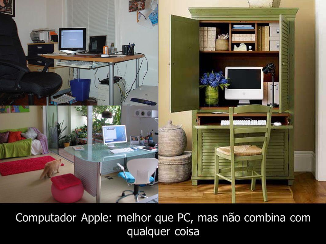 Computador Apple: melhor que PC, mas não combina com qualquer coisa