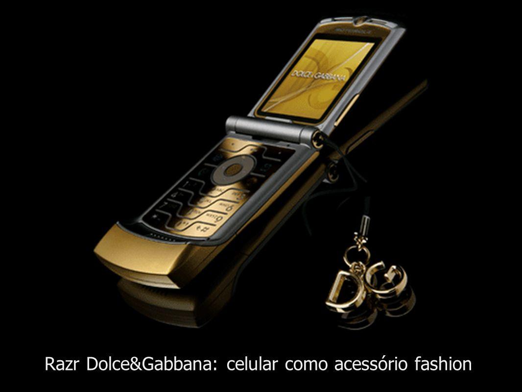 Razr Dolce&Gabbana: celular como acessório fashion