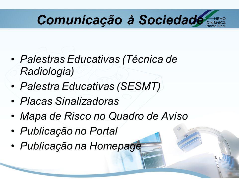 Comunicação à Sociedade