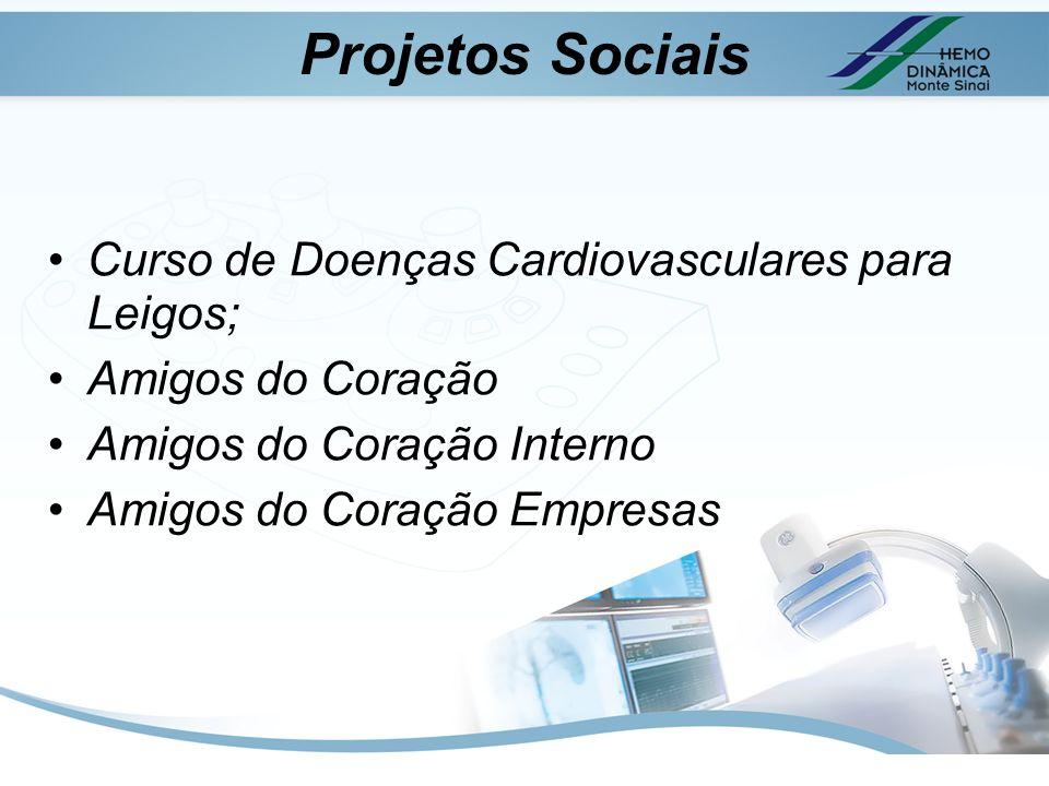 Projetos Sociais Curso de Doenças Cardiovasculares para Leigos;