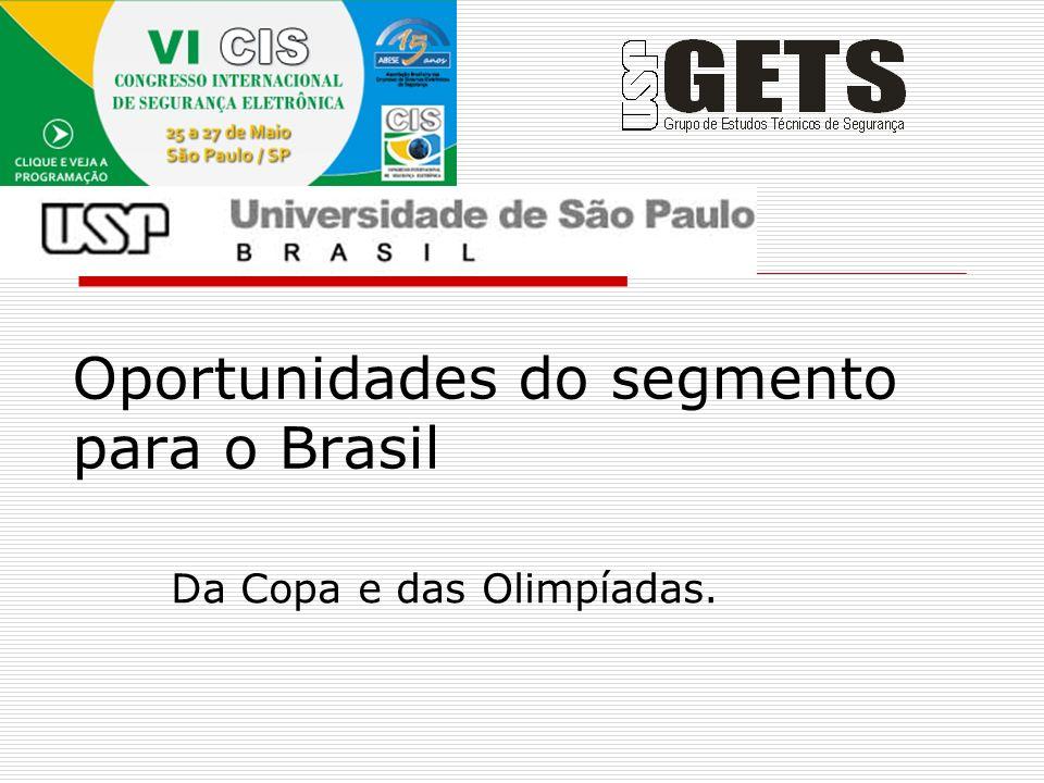 Oportunidades do segmento para o Brasil