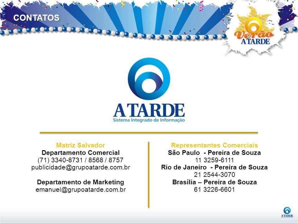 CONTATOS Matriz Salvador Departamento Comercial