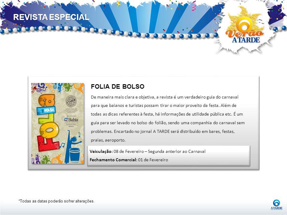 REVISTA ESPECIAL FOLIA DE BOLSO