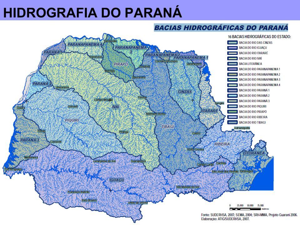 HIDROGRAFIA DO PARANÁ