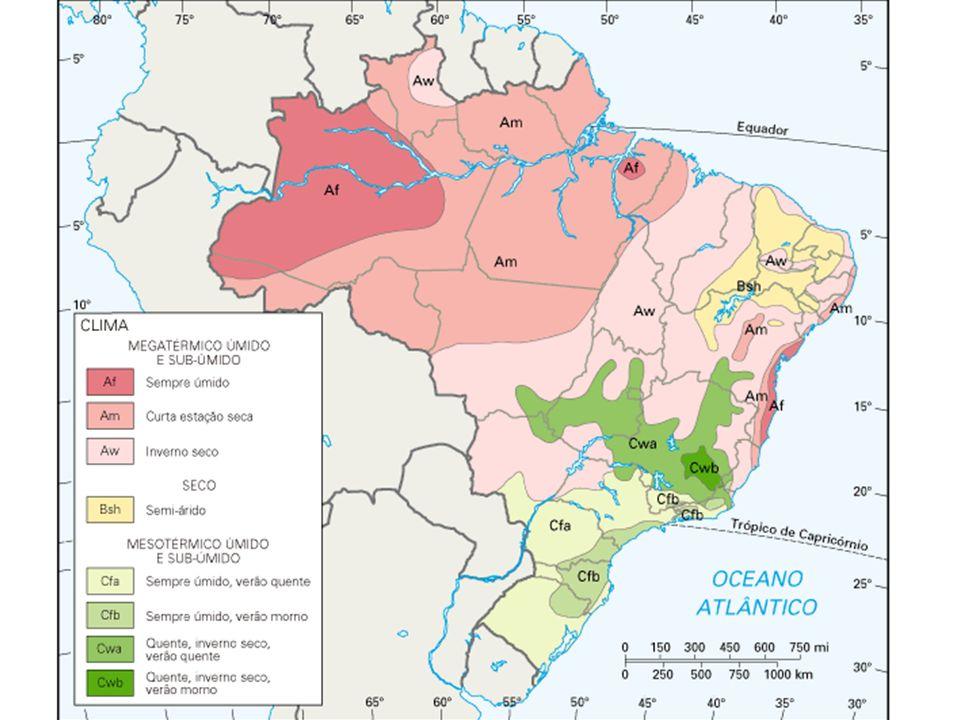 Clima da região Sul e do Paraná