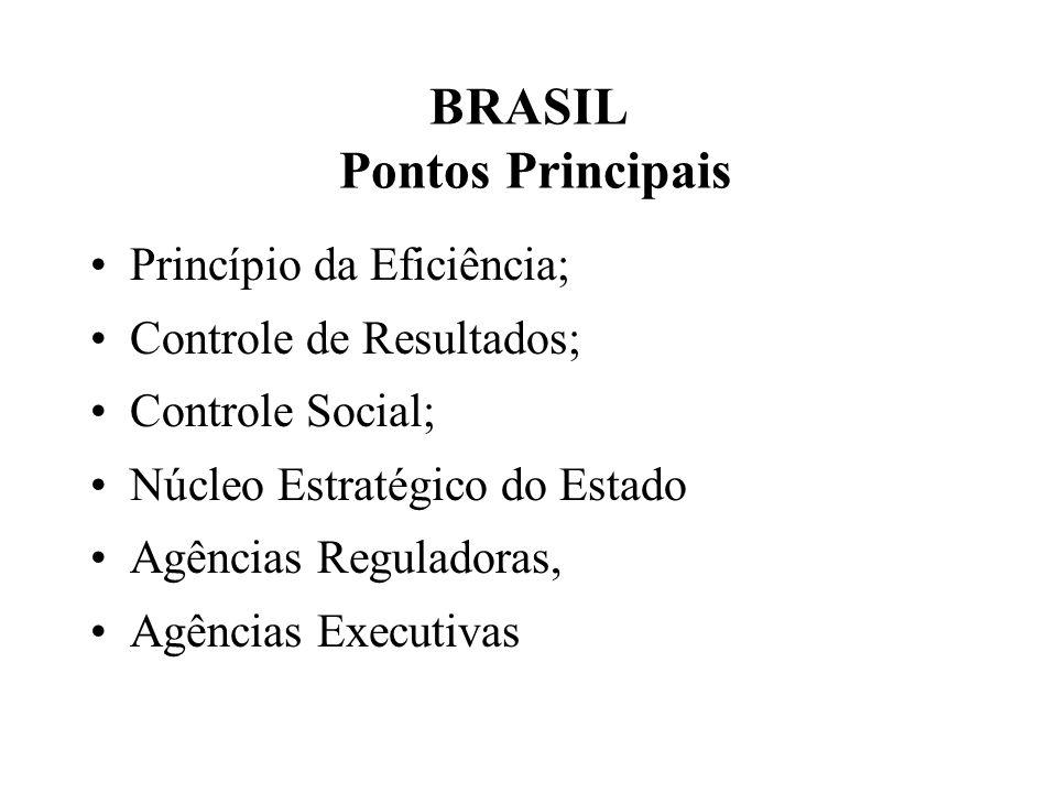 BRASIL Pontos Principais