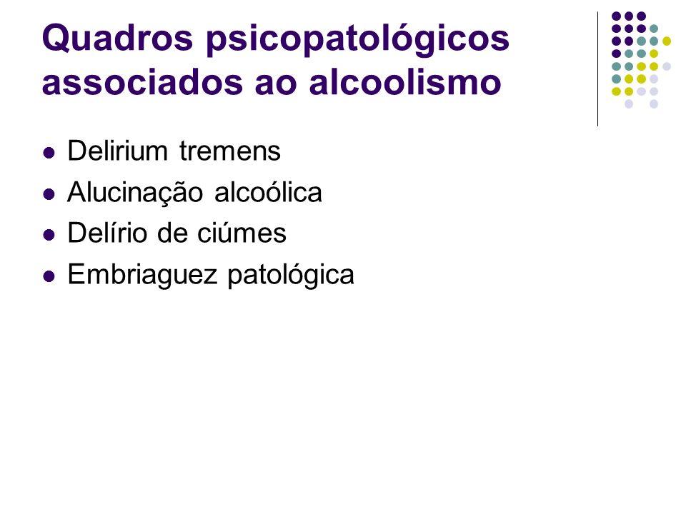 Quadros psicopatológicos associados ao alcoolismo