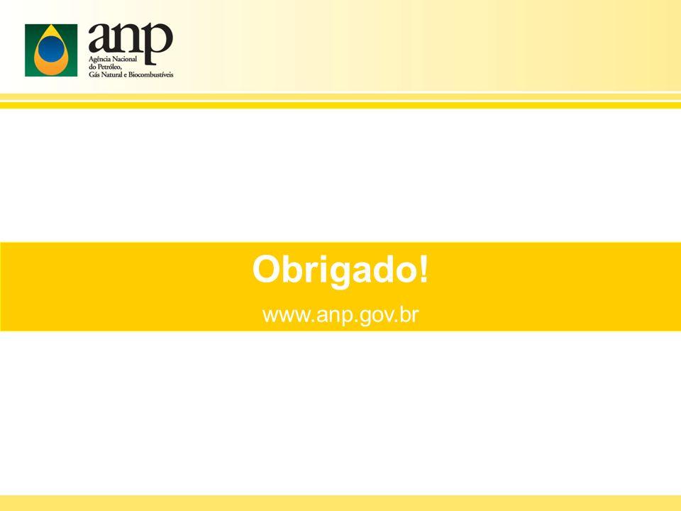 Obrigado! www.anp.gov.br