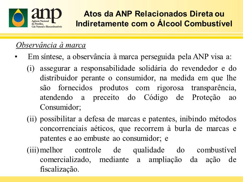 Atos da ANP Relacionados Direta ou