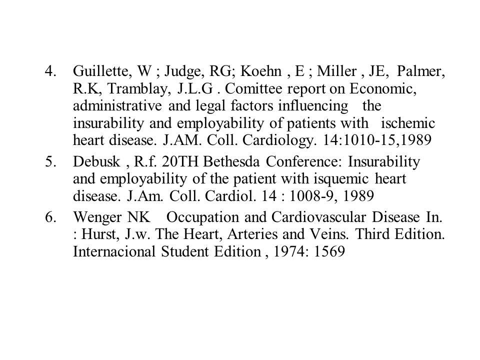 Guillette, W ; Judge, RG; Koehn , E ; Miller , JE, Palmer, R